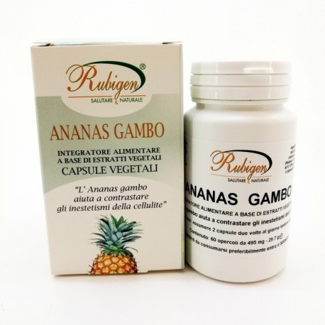 Integratore Ananas Gambo 60 Op 495 mg