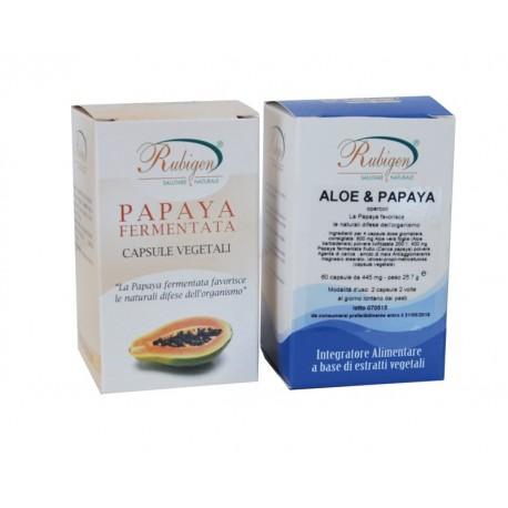 Integratore Aloe, Papaya 60 Op 400 mg