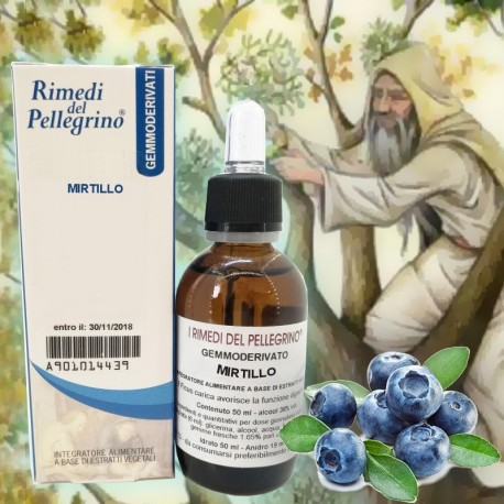 Gemmoderivato Mirtillo,Vaccinium Myrtillus 50ml