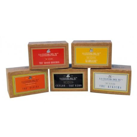 Tè In Filtri Nero Ceylon 20 Filtri