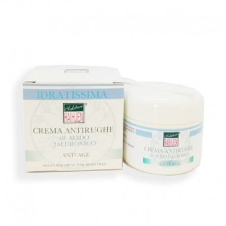 Crema Antirughe Acido Jaluronico Viso Vaso 50 ml