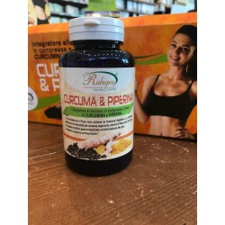 Integratore curcuma e piperina 120 cpr 500 mg