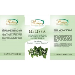 Integratore Melissa Compresse 100Pz 400mg