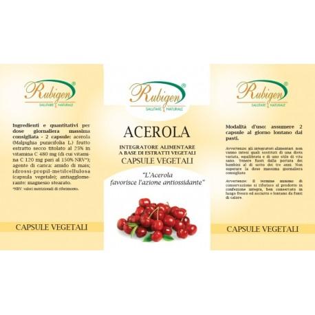 Integratore Acerola 60 Op 475 mg