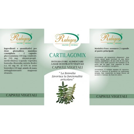 Integratore Cartilagine Di Squalo Boswelia 60 Op 495mg