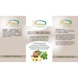 Integratore Glucomannano 100 Cpr 400 mg