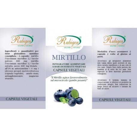 Integratore Mirtillo Bacche 60 Op 495 mg