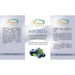 Integratore Mirtillo Foglie 60 Op 400 mg