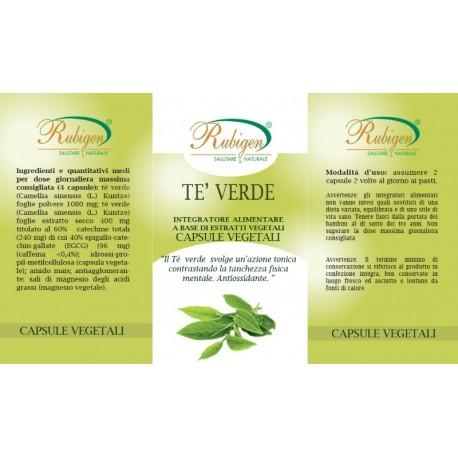 Integratore Te Verde 60 Op 495 mg