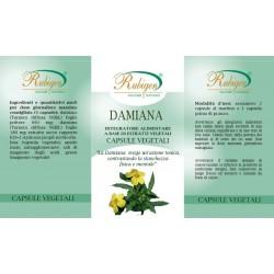 Opercoli Damiana 60 Op 495 mg