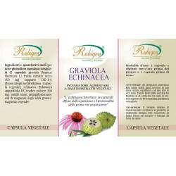 Integratore graviola Echinacea 60 Op 500 mg