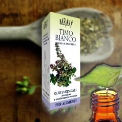 Olio Essenziale Timo Bianco 12ml Alimentare Purissimo
