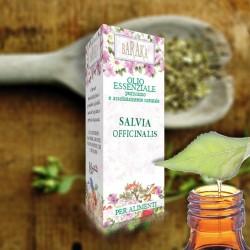 Olio Essenziale Salvia Officinalis 12ml Alimentare Purissimo