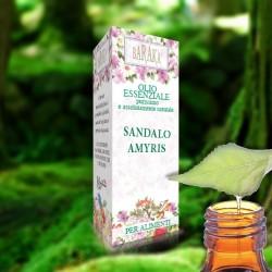 Olio Essenziale Sandalo Amyris 12 ml Alimentare Purissimo