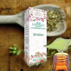 Olio Essenziale Zenzero 12ml Alimentare Purissimo