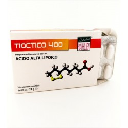 Integratore Acido Tioctico 400 Acido Alfalipoico 30Cpr 400mg