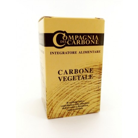 Integratore Carbone Vegetale Tavolette 120 Cpr 400mg