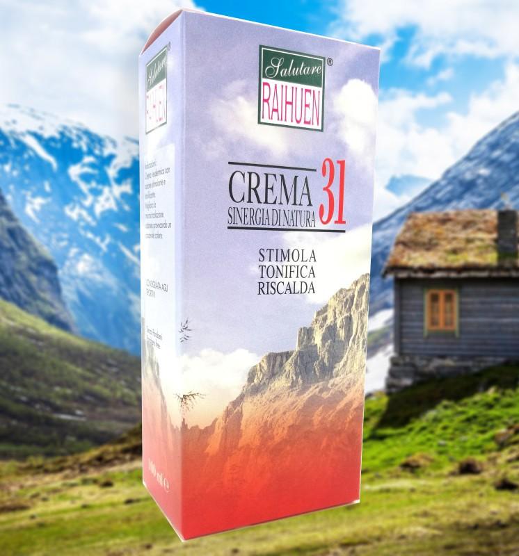 crema olio 31 rossa riscaldante