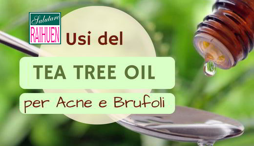tea tree brufoli acne capelli dermatiti
