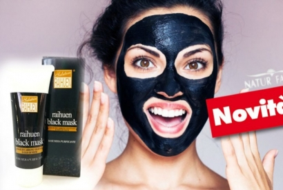 Raihuen Black Mask: black is beautiful. Il segreto per una pelle luminosa.